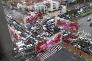 Beschleunigte Kunst in Sao Paolo
