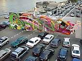 Beschleunigte Kunst in Moskau